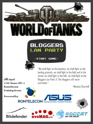 Bloggers Lan Party II Poster