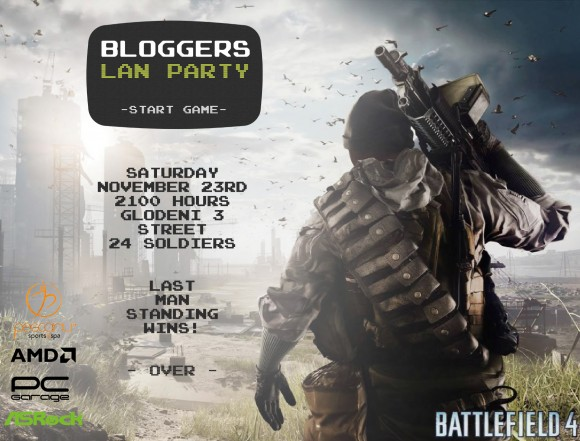 Bloggers Lan Party 4 Poster